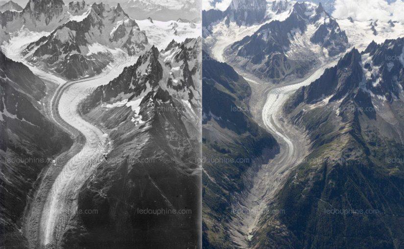 Environnement : le Mont-Blanc n'est plus ce qu'il était [Le Dauphiné Libéré]