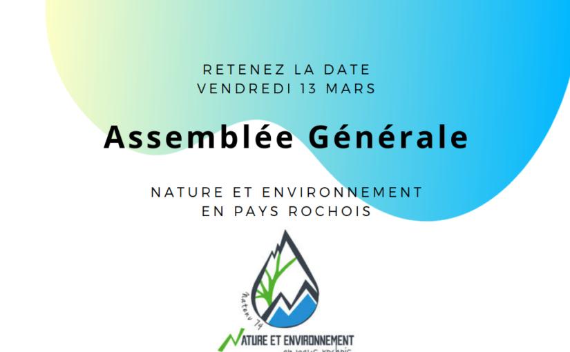 13 Mars 2020, Assemblée Générale
