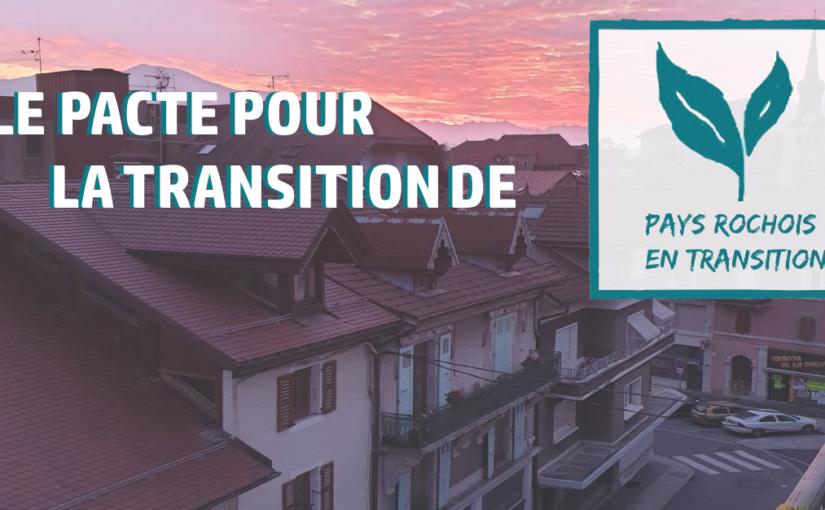[En Transition] Le Pacte pour la Transition du Pays Rochois est disponible