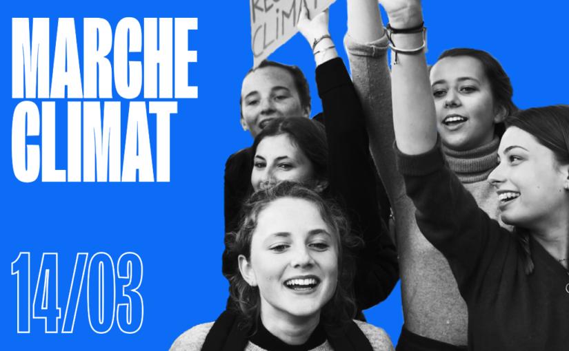 [ANNULÉE] Marche pour le Climat – 14 Mars 2020